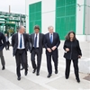 The visit of the US Ambassador John R. Phillips to the Matrìca plants
