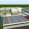 Panoramic view of the plant (rendering)